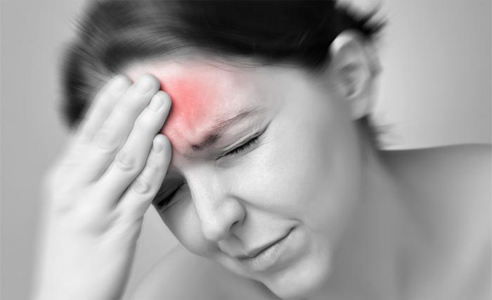 Болит лоб