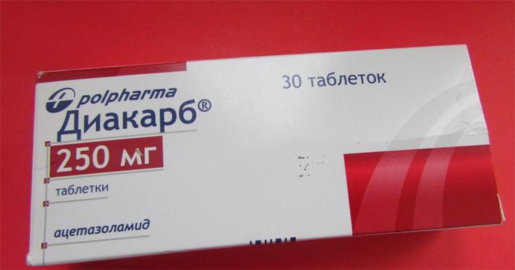 Диакарб таблетки