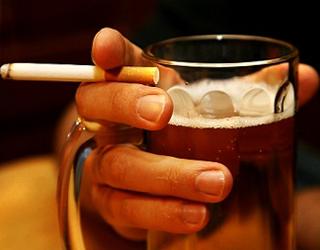 Курения и алкоголь