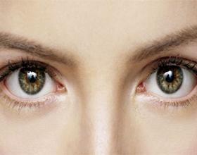 Блики в глазах как от солнца