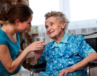Слабоумие у бабушки